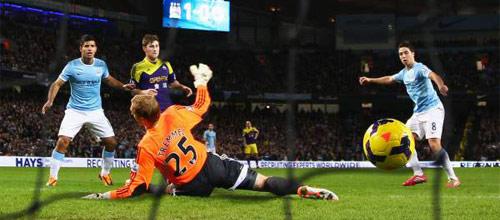 Англия, Премьер-лига: Суонси - Манчестер Сити