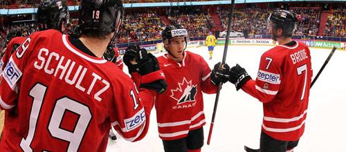 Чемпионат мира 2016: Канада - Швеция
