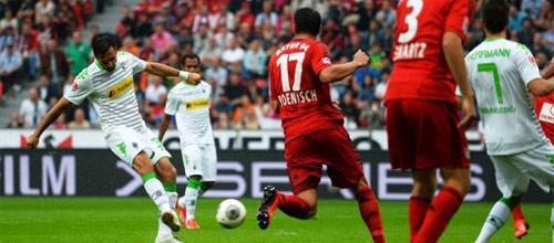 Чемпионат Германии: Боруссия Мёнхенгладбах - Байер