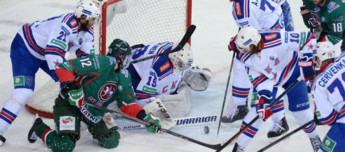Чемпионат КХЛ: СКА - Ак Барс