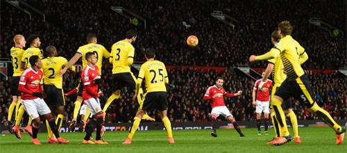 Чемпионат Англии: Уотфорд - Манчестер Юнайтед