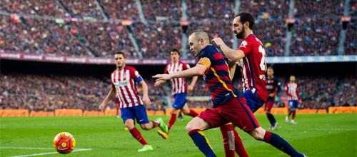 Чемпионат Испании, Примера: Барселона - Атлетико Мадрид