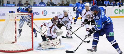 Чемпионат КХЛ: Нефтехимик - Динамо Рига