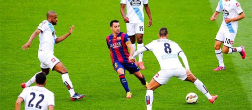 Чемпионат Испании: Барселона - Депортиво