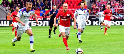 Чемпионат России: Спартак - ЦСКА