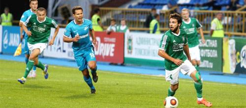 Чемпионат России: Зенит - Томь