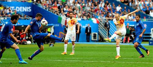 ЧМ-2018, квалификация: Италия - Испания