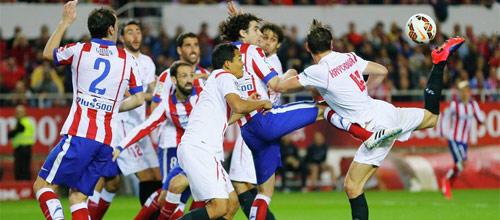 Испания, Примера: Севилья - Атлетико Мадрид