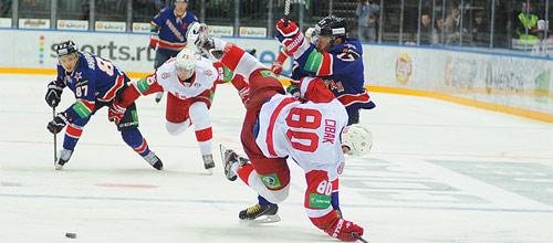 Чемпионат КХЛ: Витязь - СКА