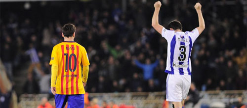 Испания, Примера: Реал Сосьедад - Барселона