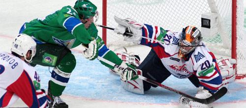 Чемпионат КХЛ: Салават Юлаев - Металлург Магнитогорск