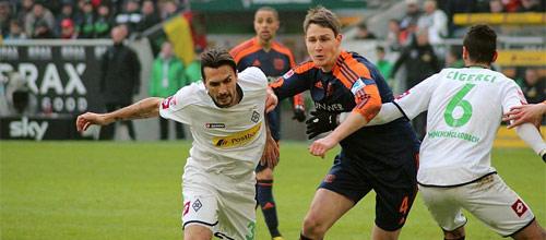 Чемпионат Германии: Байер - Боруссия Мёнхенгладбах