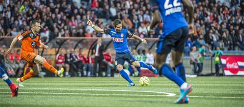 Франция, Лига 1: Монако - Лорьян