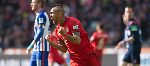 Чемпионат Германии: Герта - Бавария