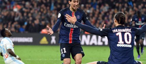 Франция, Лига 1: Марсель - ПСЖ