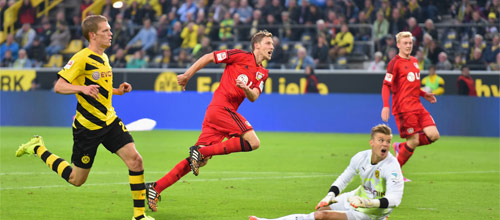 Чемпионат Германии: Боруссия Дортмунд - Байер