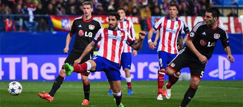 Лига Чемпионов: Атлетико Мадрид - Байер