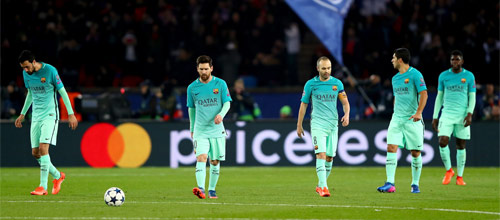 Лига Чемпионов УЕФА: Барселона - ПСЖ