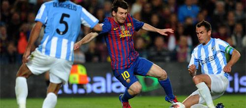 Чемпионат Испании: Малага - Барселона