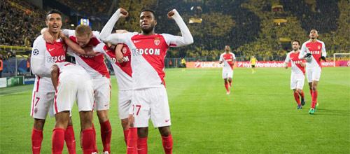 Лига Чемпионов: Монако - Боруссия Дортмунд