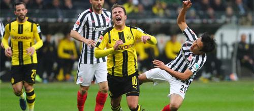 Кубок Германии: Айнтрахт - Боруссия Дортмунд