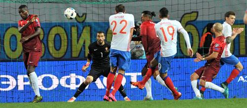 Кубок Конфедераций: Россия - Португалия