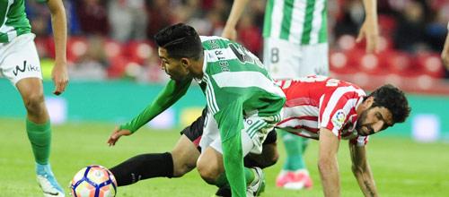 Чемпионат Испании: Бетис - Атлетик Бильбао