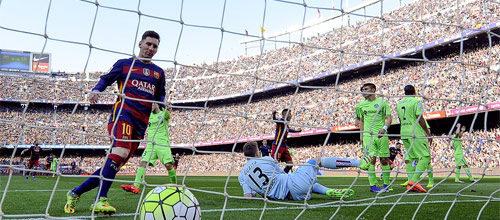 Чемпионат Испании: Барселона - Хетафе