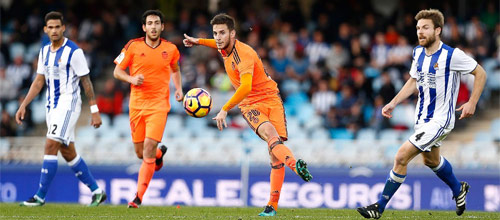 Чемпионат Испании: Валенсия - Реал Сосьедад