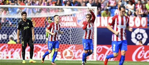 Лига Европы: Атлетико Мадрид - Спортинг