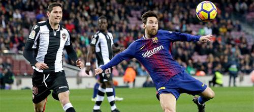 Чемпионат Испании: Леванте - Барселона