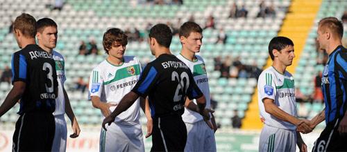 Чемпионат Украины, стыковые матчи: Черноморец - Полтава