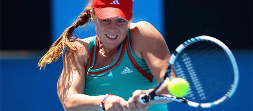 WTA теннис: А. Павлюченкова - А. Медина Гарригес