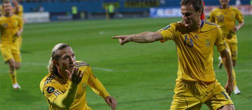 Евро 2012, групповой этап: Украина - Швеция