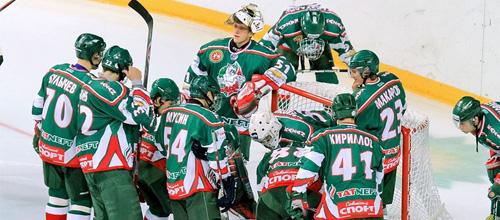 Чемпионат КХЛ: Ак Барс - Динамо Москва