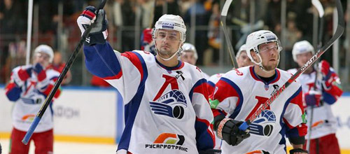 Чемпионат КХЛ: Локомотив - Барыс