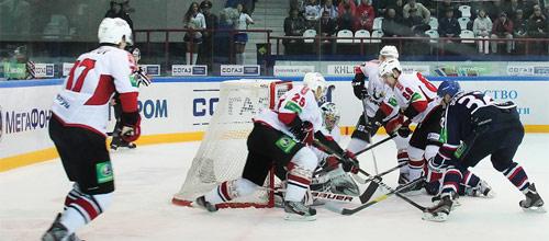 Чемпионат КХЛ: Сибирь - Металлург Новокузнецк
