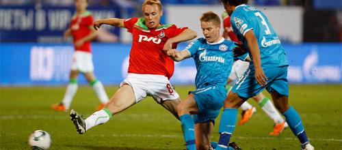 Чемпионат России: Локомотив - Зенит