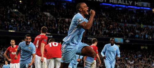 Чемпионат Англии: Манчестер Юнайтед - Манчестер Сити