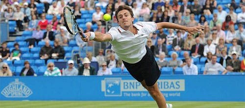 Турнир ATP, Барселона: Роже Васселин - Ян Хайек