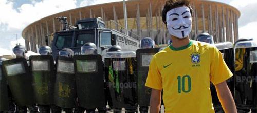 Кубок конфедераций, полуфинал: Бразилия - Уругвай
