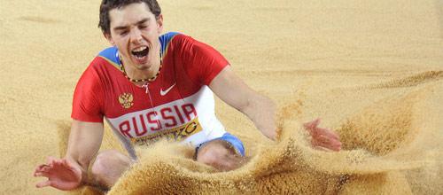 ЧМ, Легкая атлетика, Прыжки в длину: Александр Меньков - любой другой