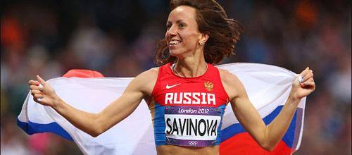 ЧМ, Легкая атлетика, 800 м: Мария Савинова - любая другая