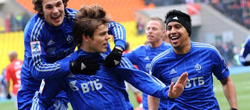 Российская Премьер-Лига: Динамо (Москва) - Зенит