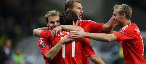 Отборочный матч ЧМ-2014 по футболу: Северная Ирландия - Россия