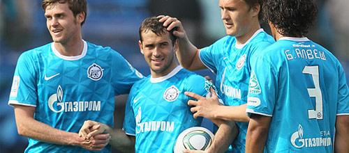 Российская Премьер-Лига: Зенит - АНЖИ