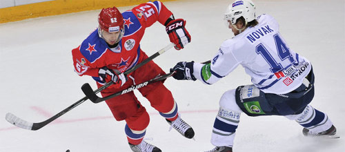 Чемпионат КХЛ: ЦСКА - Динамо Москва
