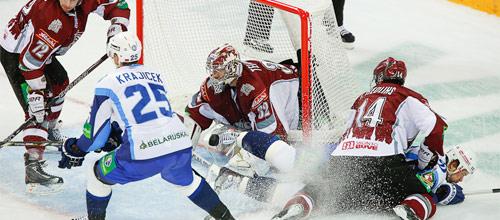 Чемпионат КХЛ: Динамо Рига - Динамо Минск
