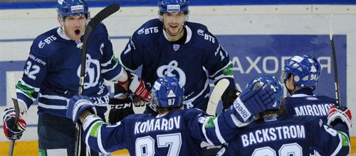 Чемпионат КХЛ: Авангард - Динамо Москва