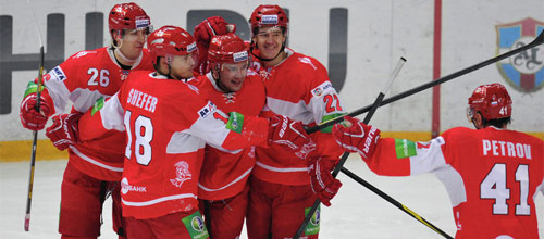 Чемпионат КХЛ: Спартак - Витязь